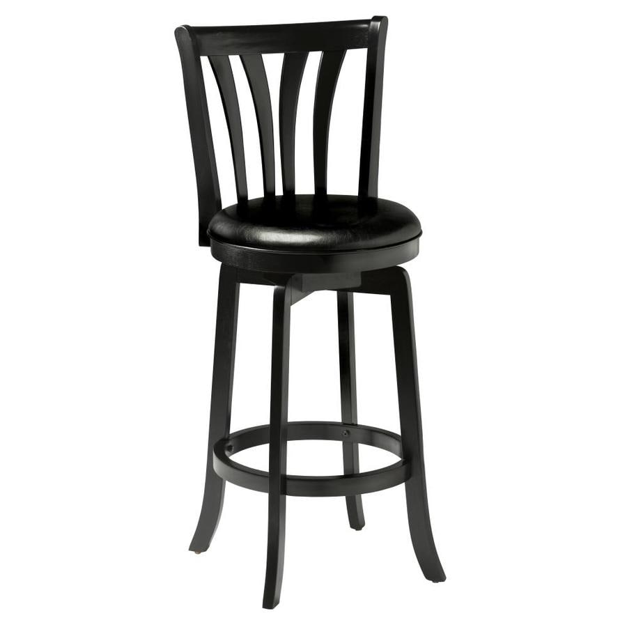 Hillsdale Furniture Savana Black 29.5-in Bar Stool