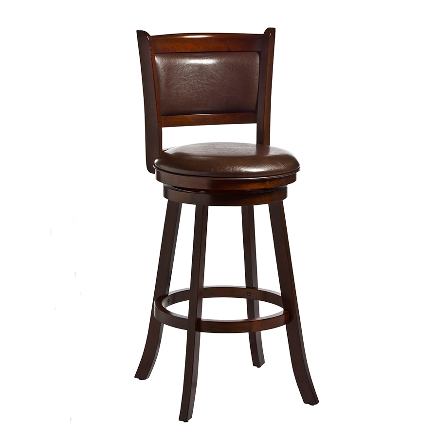 Shop Hillsdale Furniture Dennery Modern Cherry Bar Stool At