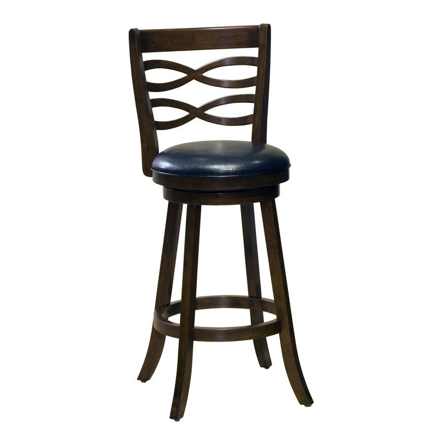 Hillsdale Furniture Elkhorn Cherry 26-in Counter Stool
