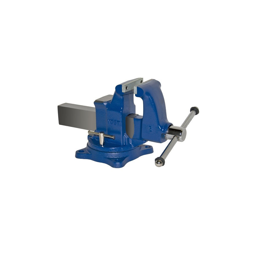 Yost 5-in Ductile Iron Combination Pipe & Bench Vise