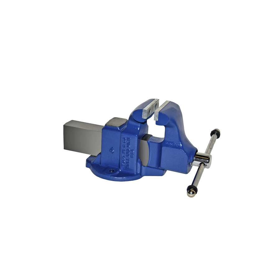 Yost 4-in Ductile Iron Heavy Duty Machinists' Vise