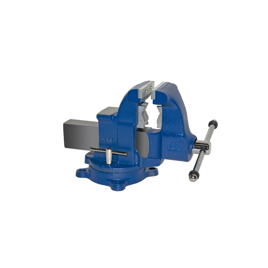 Yost 4-1/2-in Ductile Iron Combination Pipe & Bench Vise