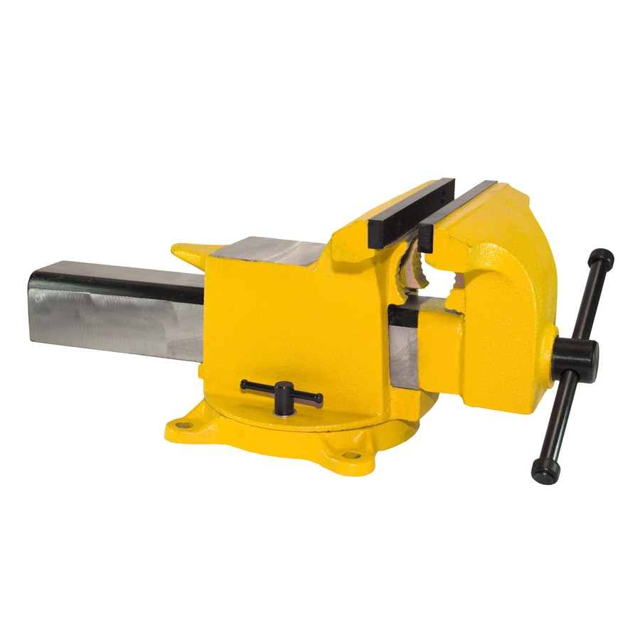 Yost 5-in Structural Cast Steel High Visibility Workshop Vise