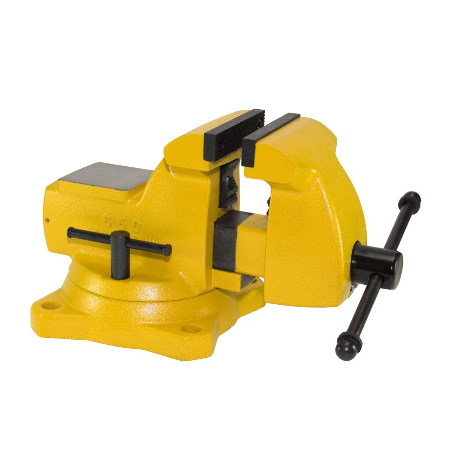 Yost 5-in Gray Iron High Visibility Mechanic's Vise