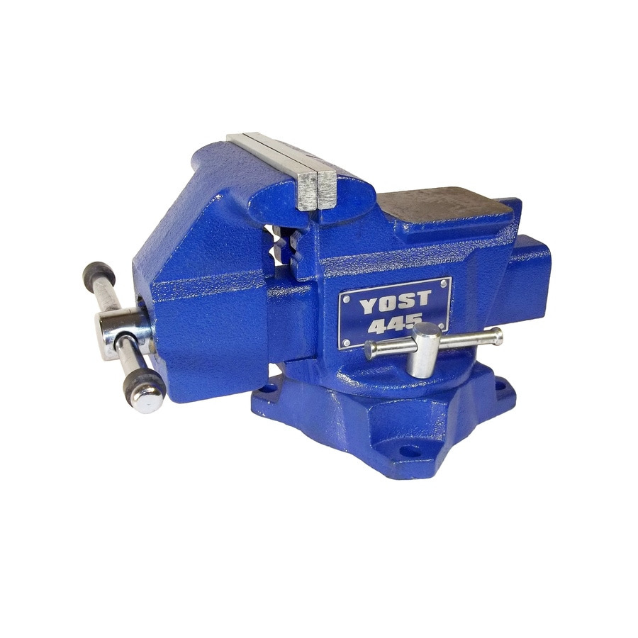 Shop Yost 4 5 In Cast Iron Apprentice Series Utility Bench Vise At
