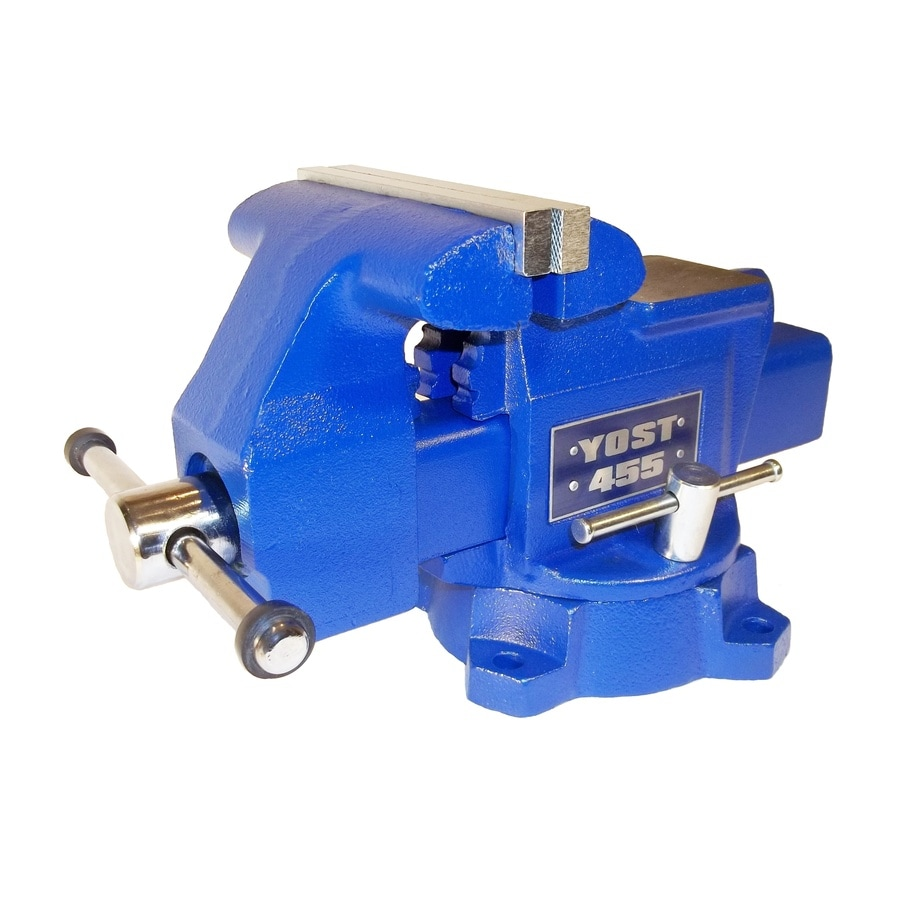 Yost 5.5-in Cast Iron Apprentice Series Utility Bench Vise