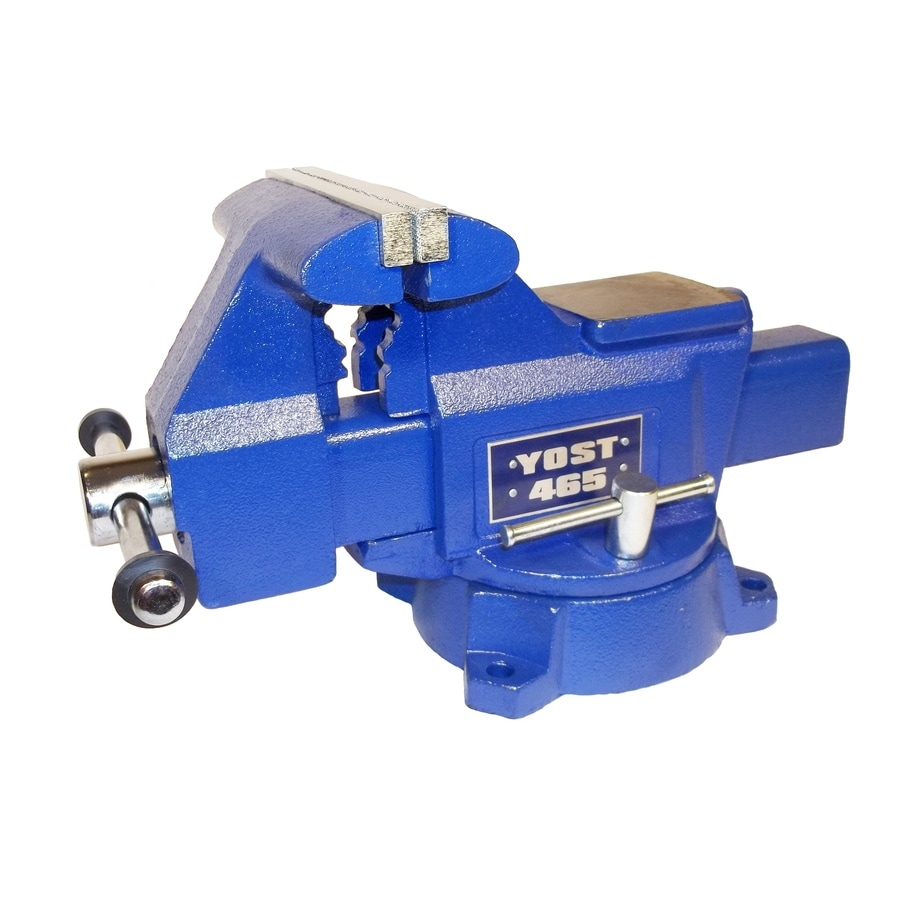 Shop yost 6 5 in cast iron apprentice series utility bench vise at 6 inch bench vise