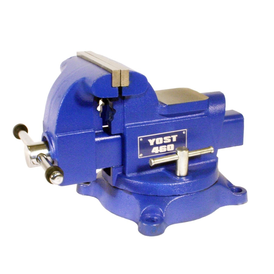 Shop Yost 6 In Cast Iron Heavy Duty Apprentice Series Utility Bench Vise At