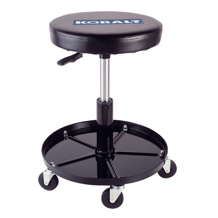 Beautiful Kobalt Adjustable Stool With Wheels