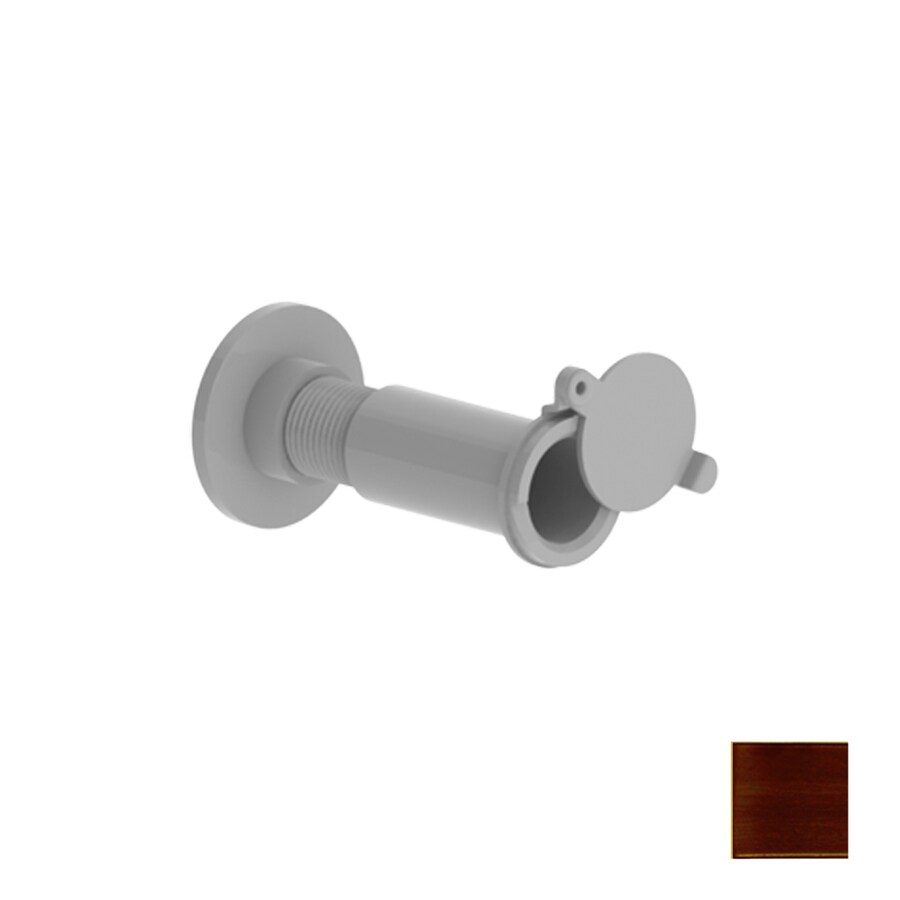 Hager 0.5312-in 185-Degree Aged Bronze Entry Door Viewer