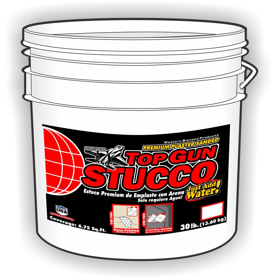30-lb Base Coat Stucco Mix