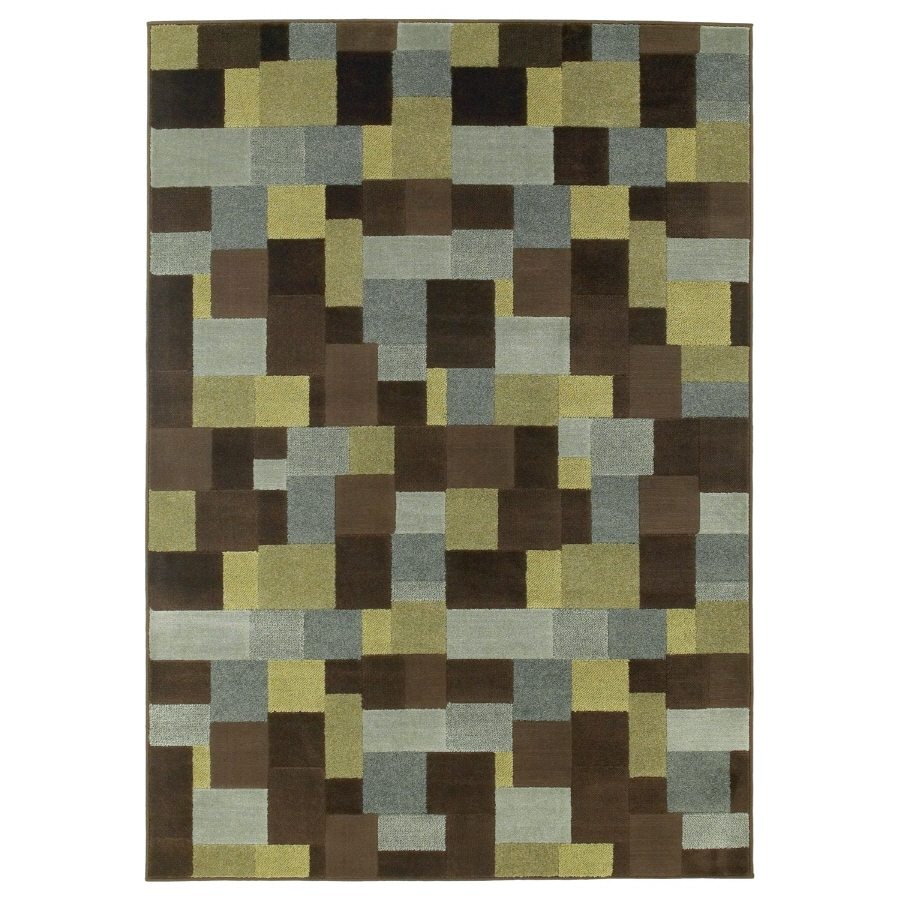 Oriental Weavers of America Rectangular Woven Throw Rug (Common: 2 x 3; Actual: 22-in W x 39-in L)