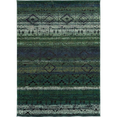 Archer Lane Hillgate Green Indoor Moroccan Area Rug Common