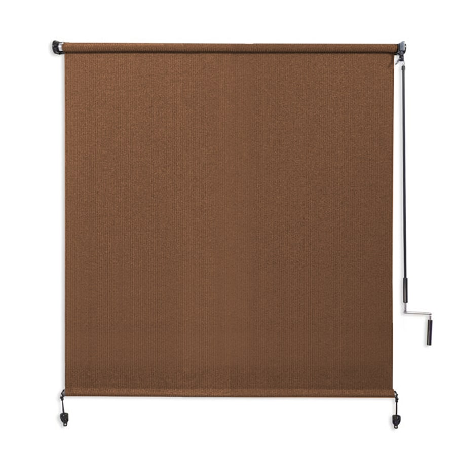 Shop coolaroo mocha light filtering cordless high density Cordless exterior sun shades