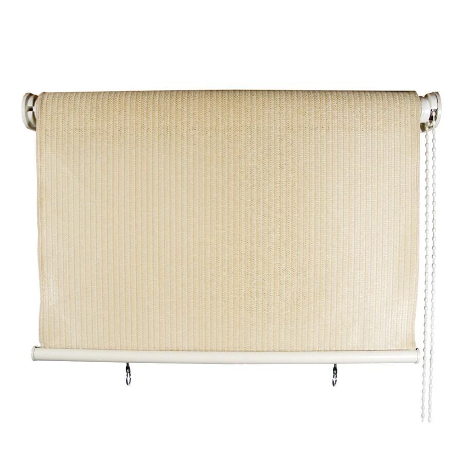 Coolaroo Exterior Sun Shades Lowes: Shop Coolaroo 72-in L Pebble Light Filtering Pvc Exterior