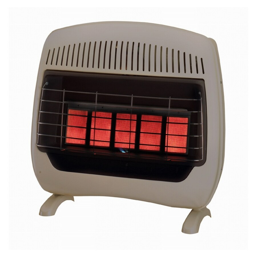 shop feature comforts 5 plaque infrared gas space heater