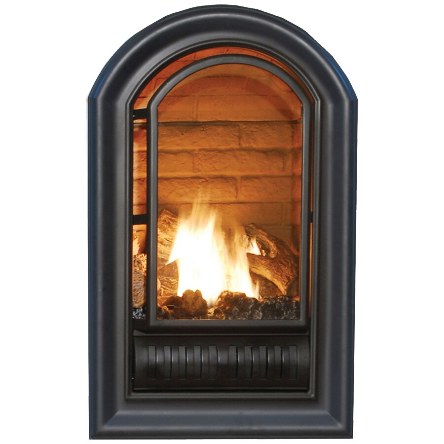 shop procom 29 quot vent free gas fireplace firebox at lowes