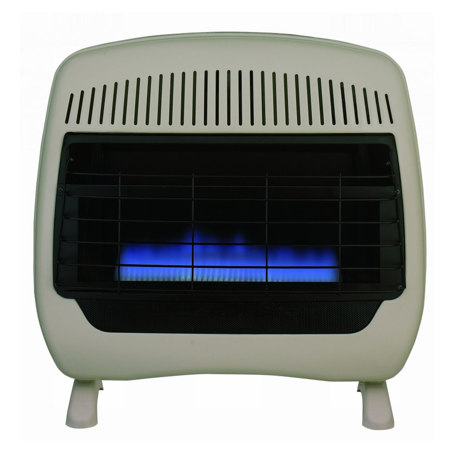 Feature Comforts 30000 BTU Blue Flame Heater with Thermostat