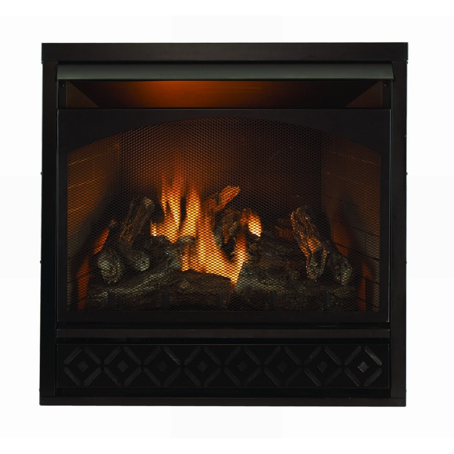 shop style selections vent free gas fireplace insert with
