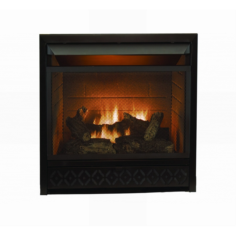 shop style selections 26 000 btu black vent free dual burner gas