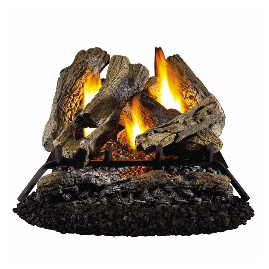 "Style Selections 18"" Vent-Free Gas Logs with Glowing Ember Bed"