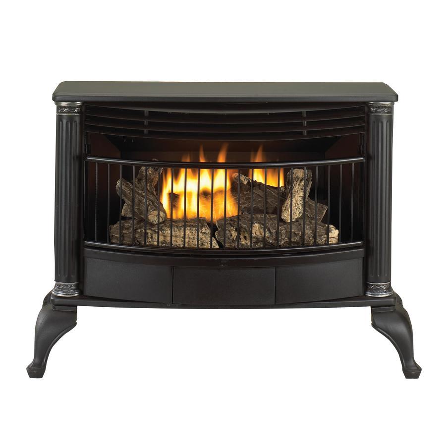 shop cedar ridge hearth 1 000 sq ft dual burner vent free corner