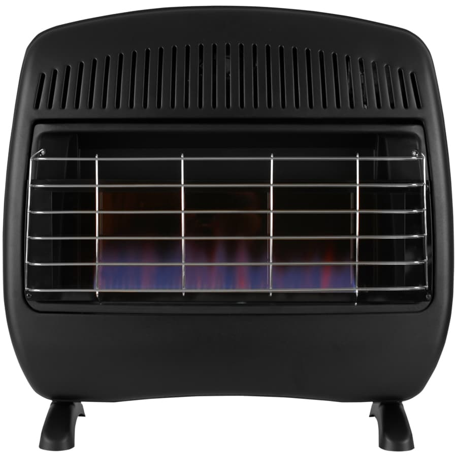 Cedar Ridge Hearth 30,000-BTU Wall or Floor-Mount Natural Gas or Liquid Propane Vent-Free Convection Heater