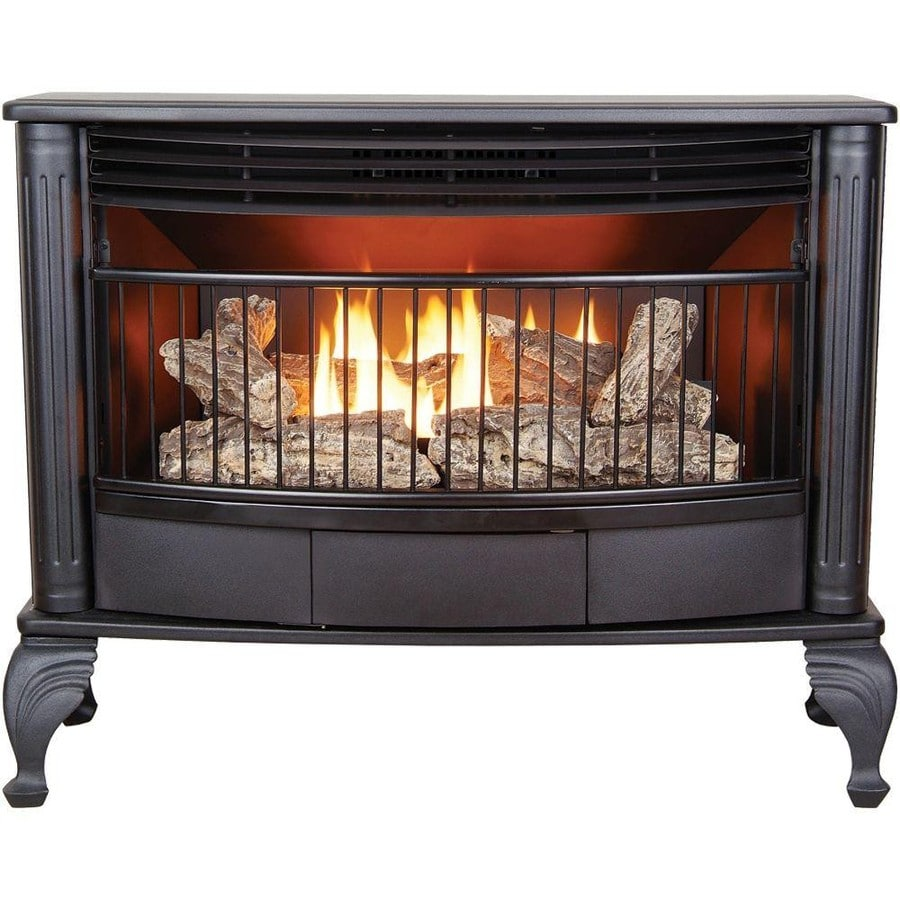 Shop Cedar Ridge Hearth 1 000 Sq Ft Dual Burner Vent Free Natural Gas Or Liquid Propane Gas