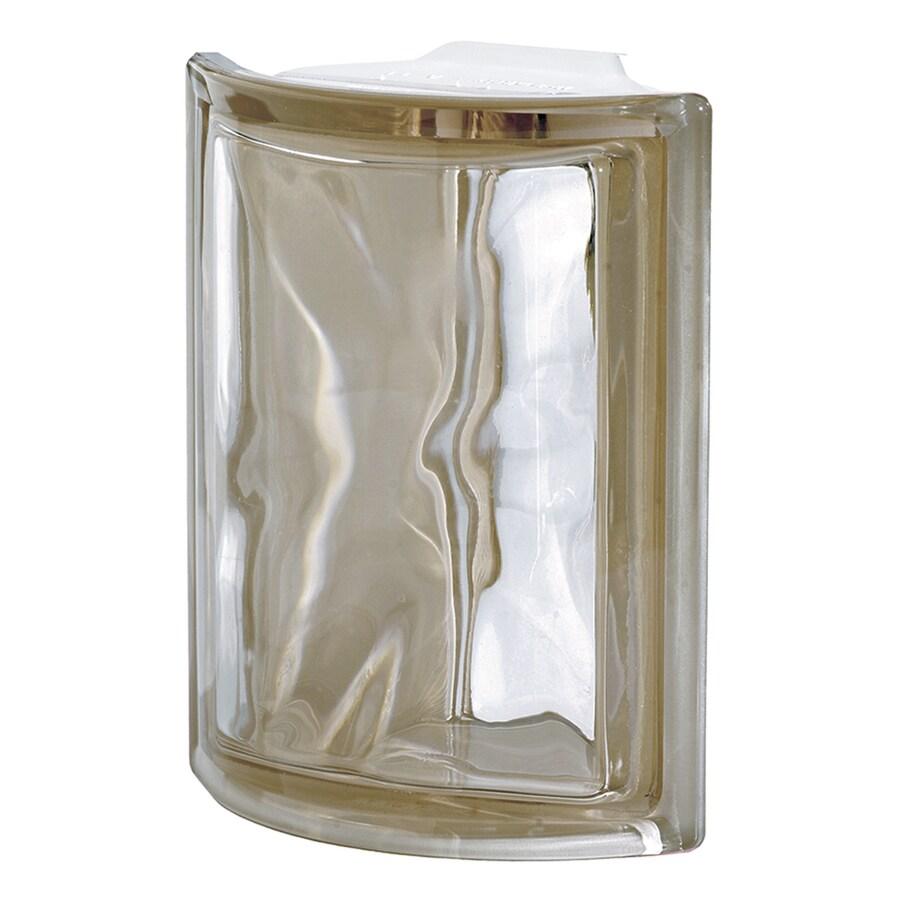 Design It Glass Block (Common: 8-in H x 6-in W x 3-in D; Actual: 7.5000-in H x 6-in W x 3.1500-in D)