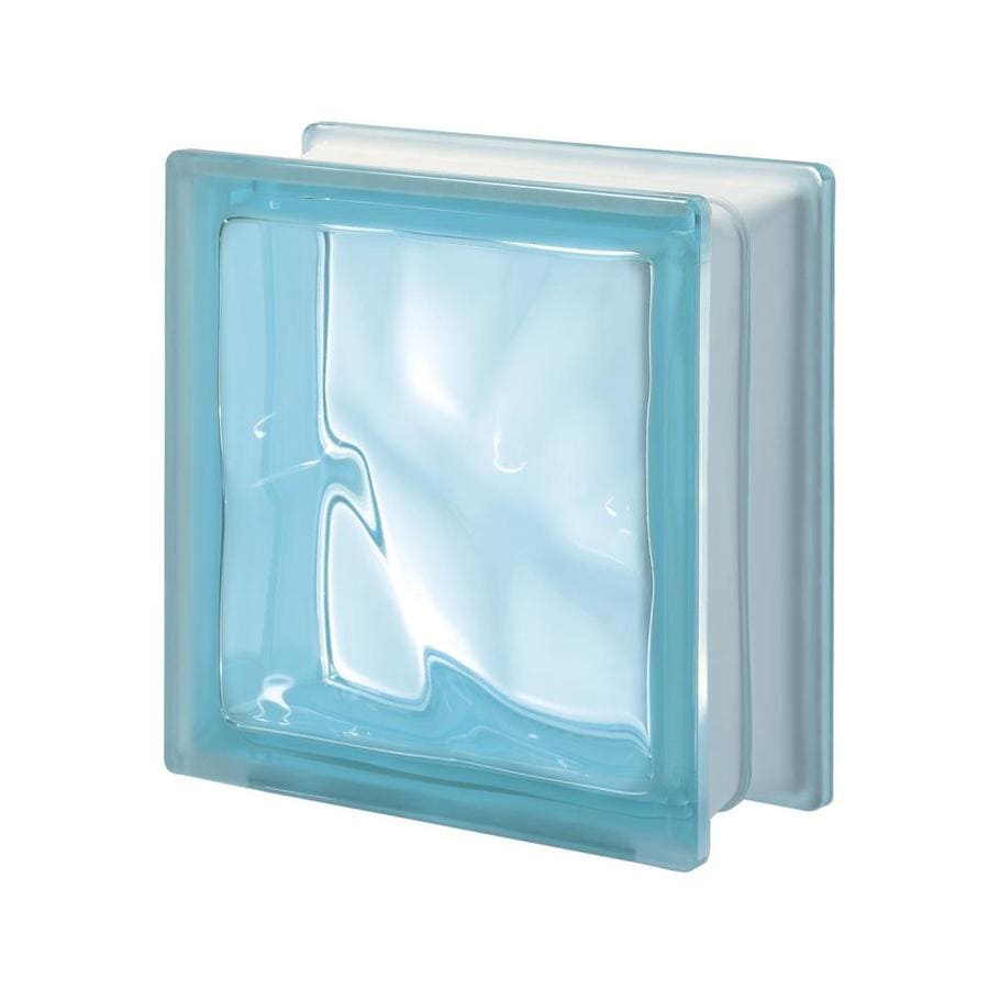 Design It Pegasus 5-Pack Glass Blocks (Common: 8-in H x 8-in W x 3-in D; Actual: 7.5-in H x 7.5-in W x 3.15-in D)