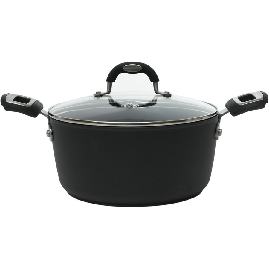 Ballarini Taormina 10-in Aluminum Cooking Pan with Lid
