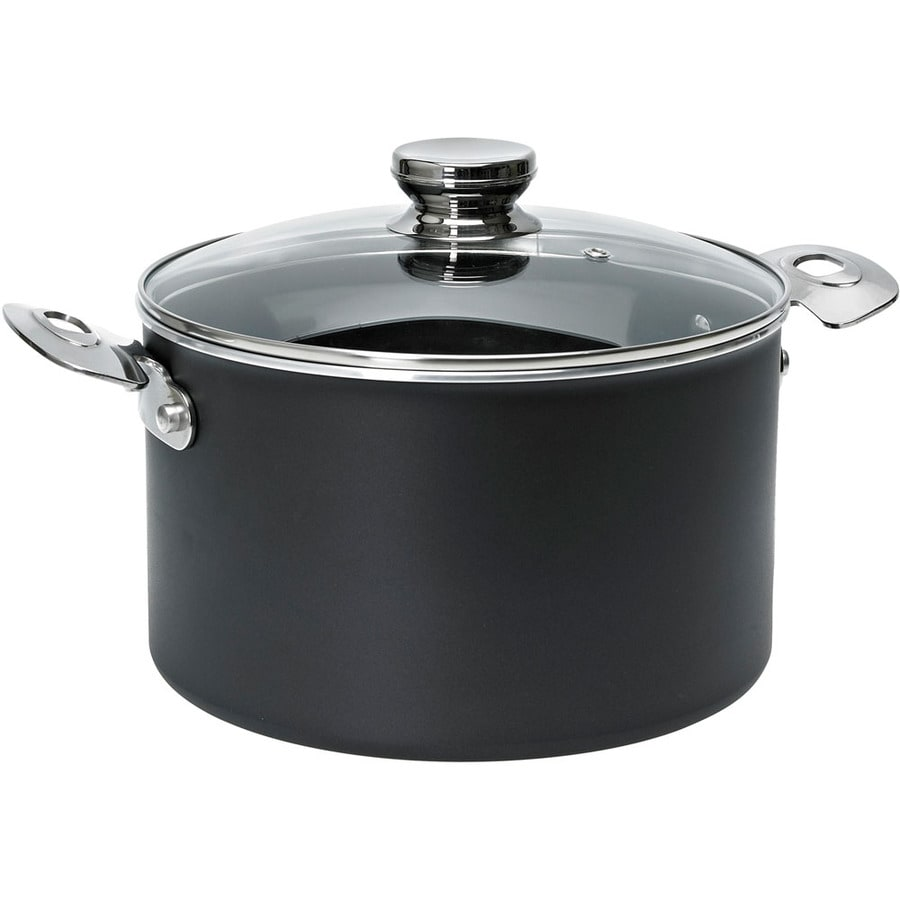 Ballarini Verona 8.5-in Aluminum Cooking Pan with Lid