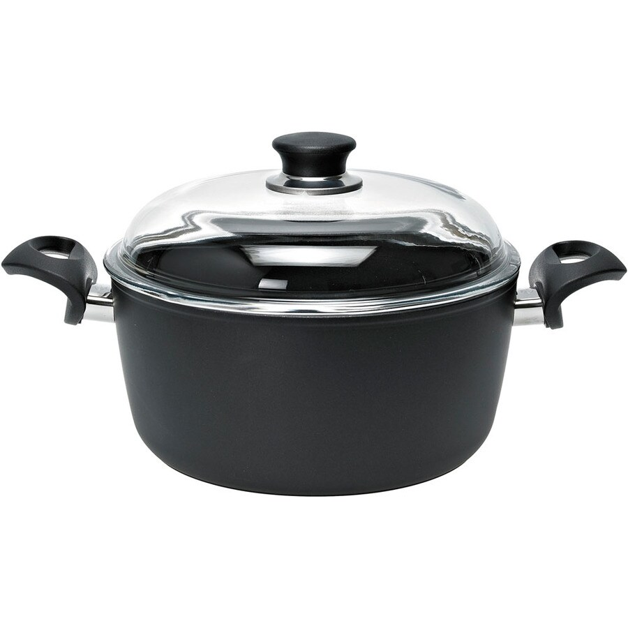 Ballarini Rialto 10.2-in Aluminum Cooking Pan with Lid
