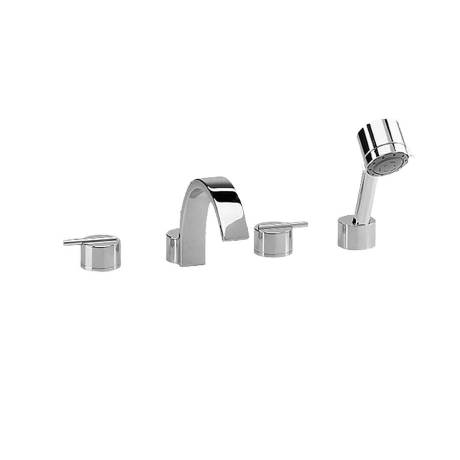shop jado glance polished chrome 2 handle bathtub and. Black Bedroom Furniture Sets. Home Design Ideas