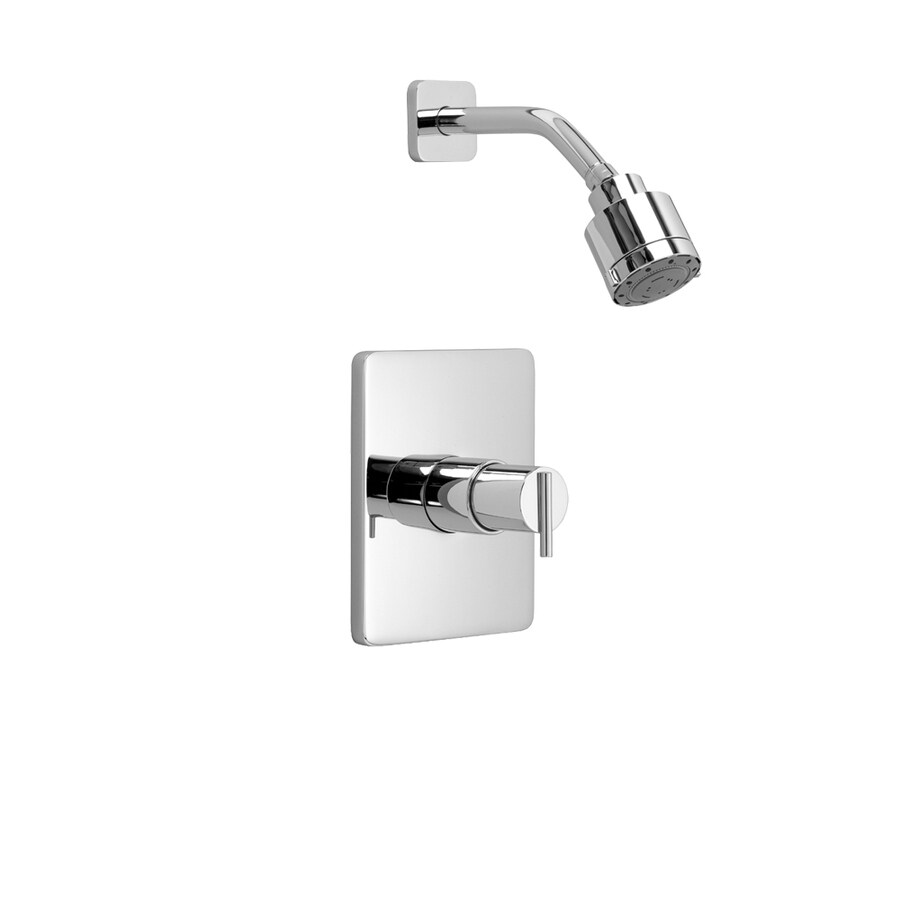 shop jado glance polished chrome 1 handle shower faucet. Black Bedroom Furniture Sets. Home Design Ideas