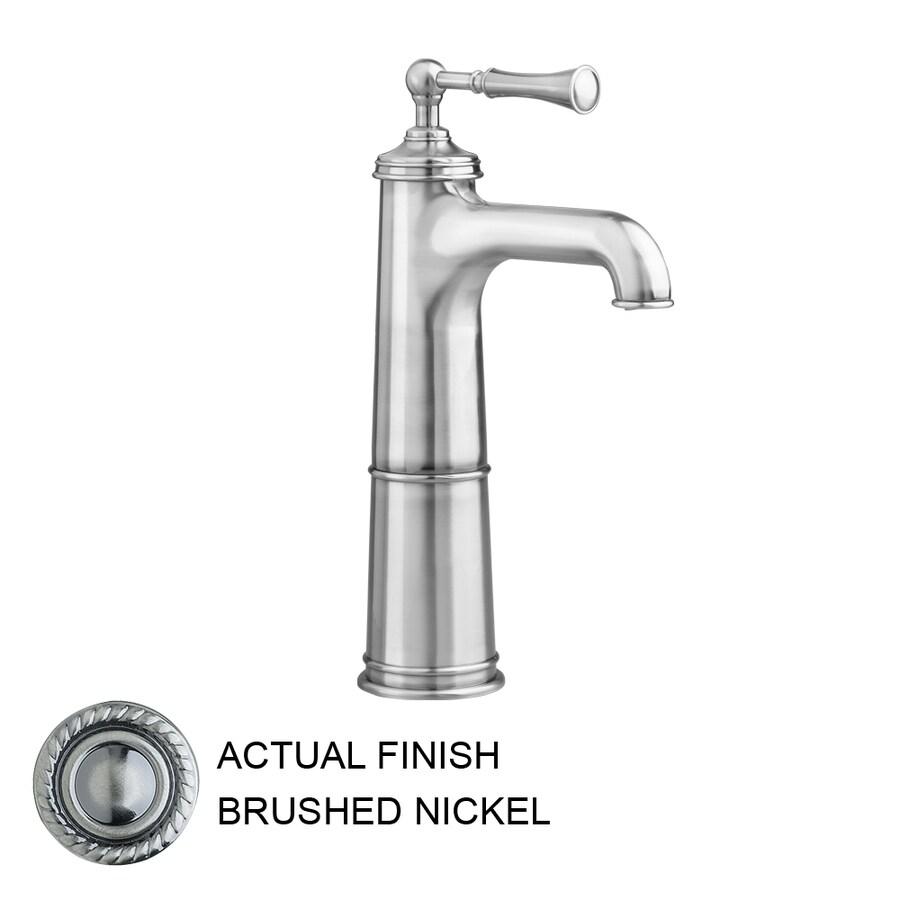 JADO Hatteras Brushed Nickel 1-Handle Single Hole WaterSense Labeled Bathroom Sink Faucet