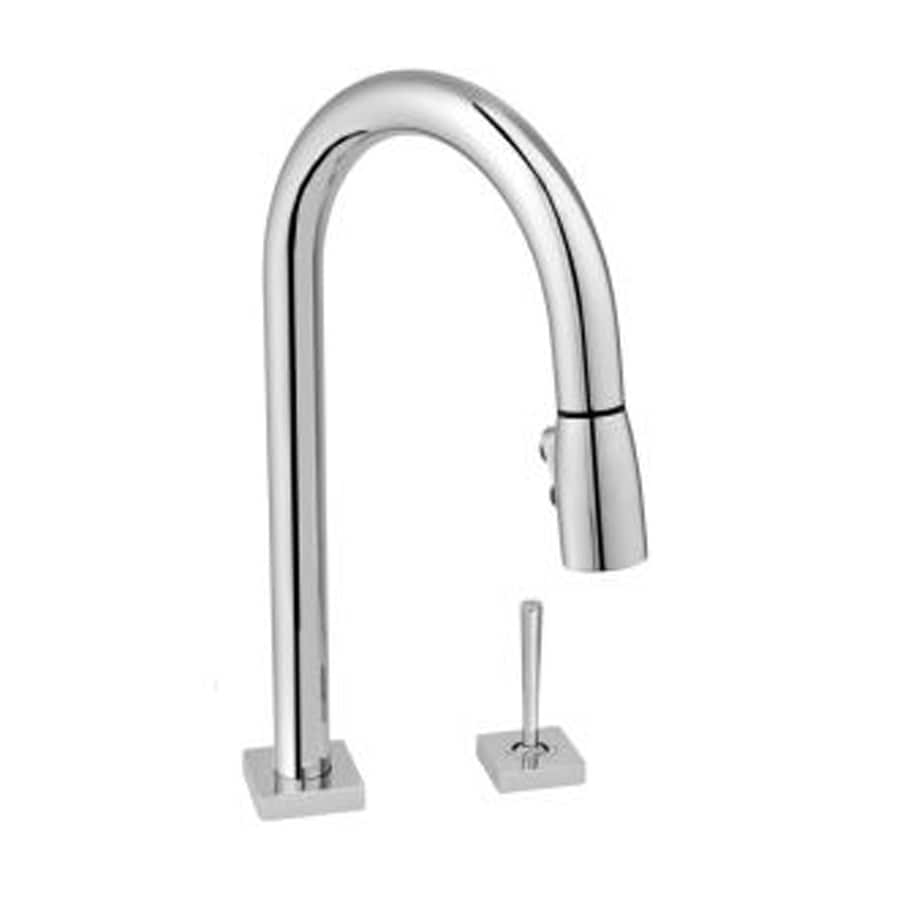 shop jado cayenne polished chrome pull down kitchen faucet. Black Bedroom Furniture Sets. Home Design Ideas