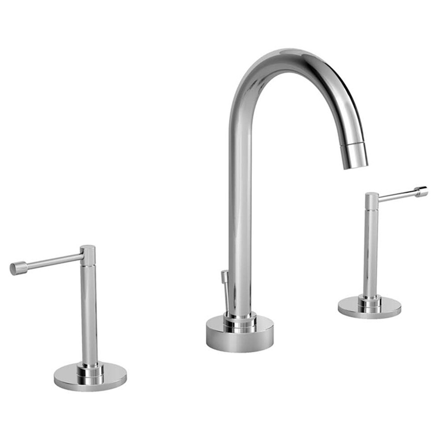 JADO Stoic Polished Chrome 2-Handle Widespread WaterSense Labeled Bathroom Sink Faucet (Drain Included)