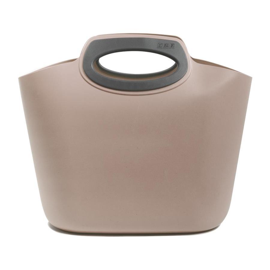 G F Garden 16 In W X 10 H 6 D Gray Plastic Basket
