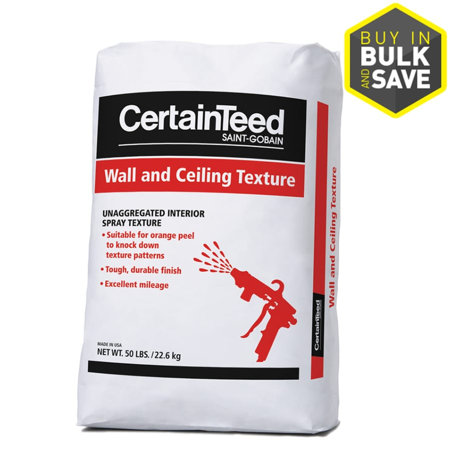 CertainTeed 50-lb Off-White Sprayer Wall and Ceiling Texture