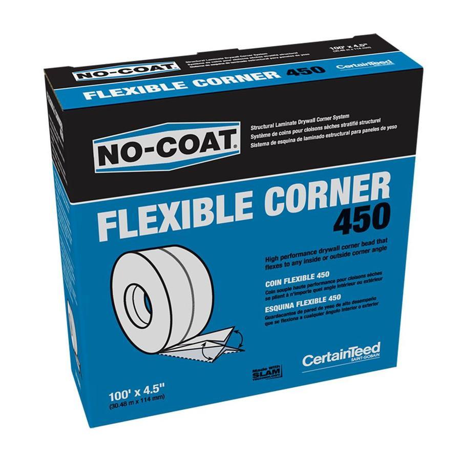 CertainTeed 4.5-in x 100-ft No-Coat Vinyl Corner Bead