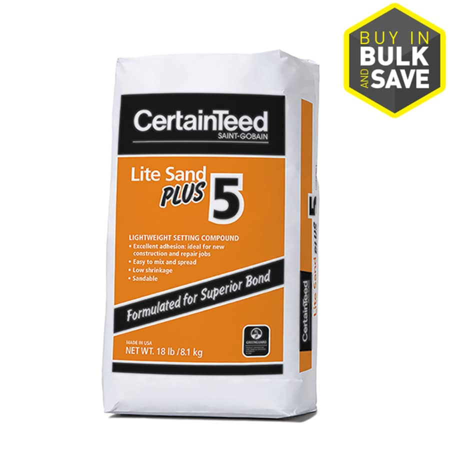 CertainTeed Lite Sand Plus 18 Pound(S) Finishing Drywall Joint Compound