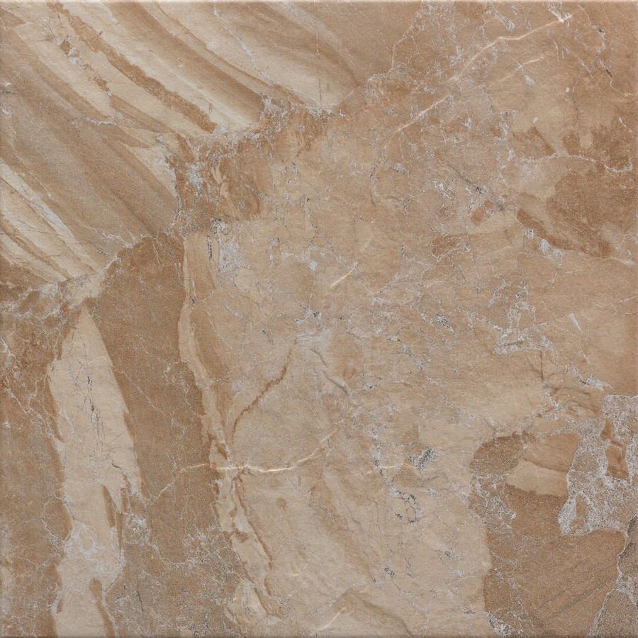 FLOORS 2000 Cortina 7-Pack Sand Porcelain Floor and Wall Tile (Common: 18-in x 18-in; Actual: 17.73-in x 17.73-in)