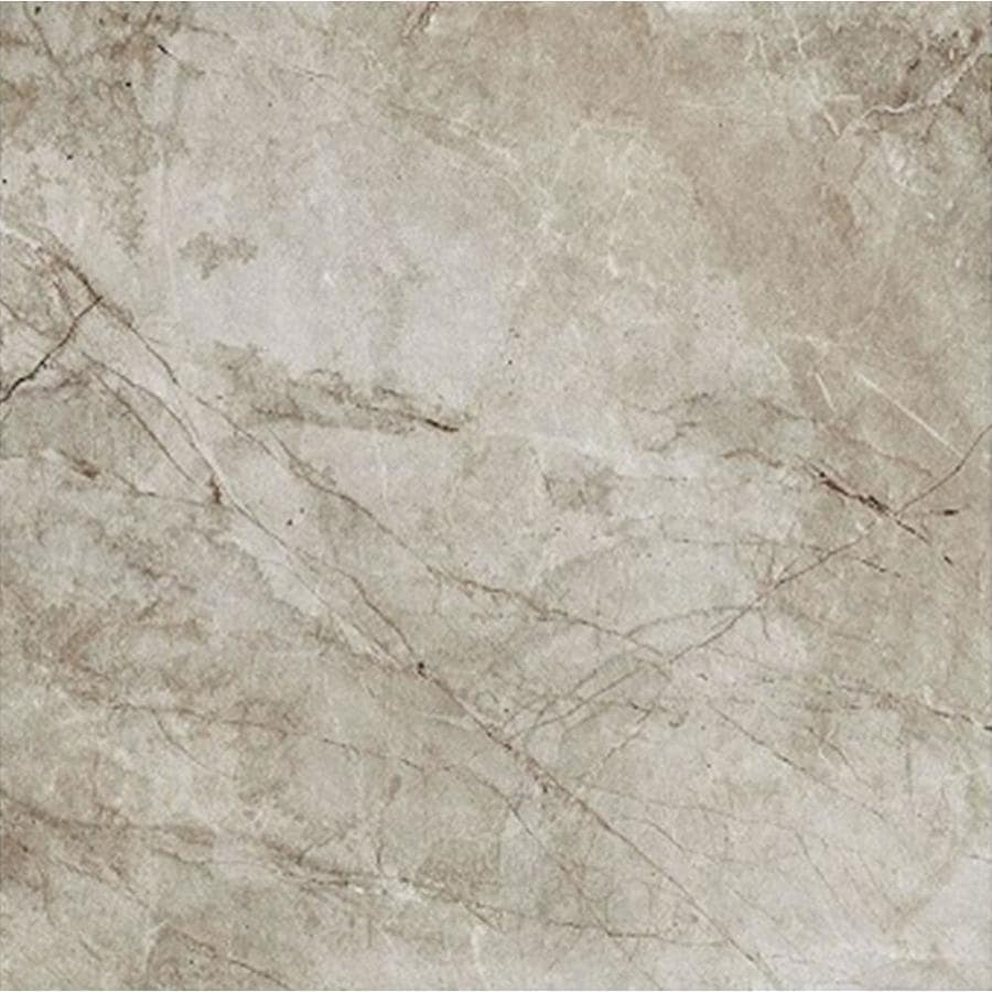 FLOORS 2000 Alor 7-Pack Taupe Porcelain Floor and Wall Tile (Common: 18-in x 18-in; Actual: 17.71-in x 17.71-in)