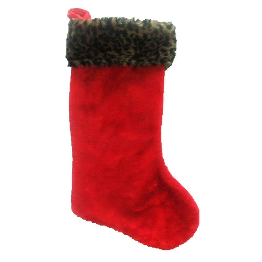 Holiday Living 19-in Polyester Christmas Stocking