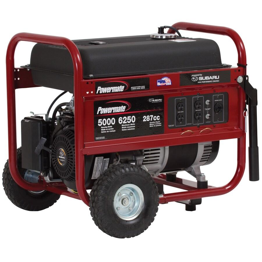 Mate 5 000 Running Watt Portable Generator With Subaru Engine No Reviews