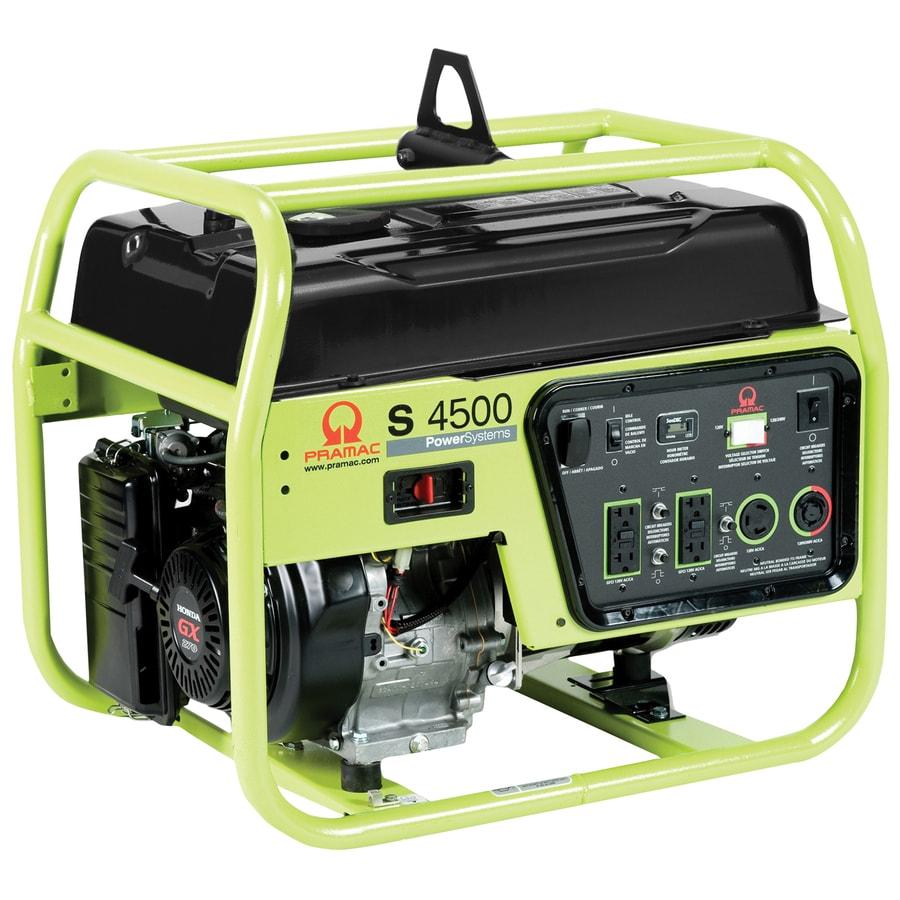 PRAMAC S Class 4200-Running Watts Portable Generator