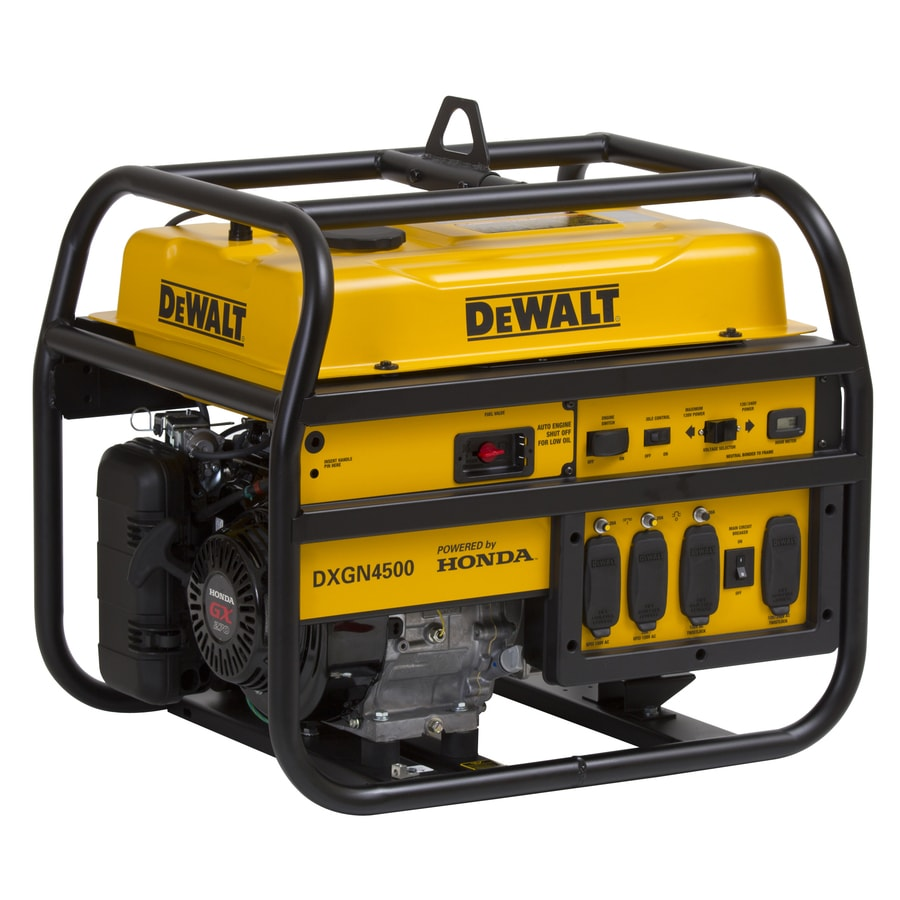 DEWALT 4,200-Running-Watt Portable Generator with Honda Engine