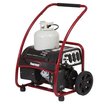 Powermate 5500-Running-Watt Propane Portable Generator at