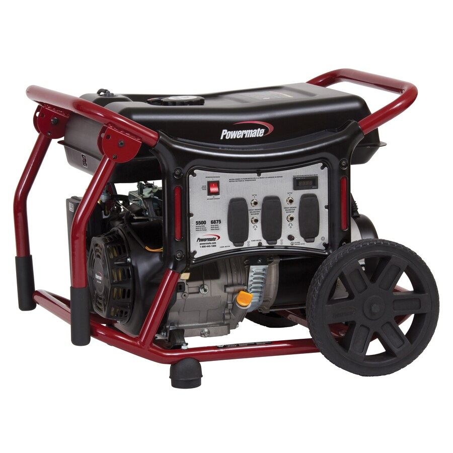 Powermate 5,500-Running-Watt Portable Generator with Powermate Engine